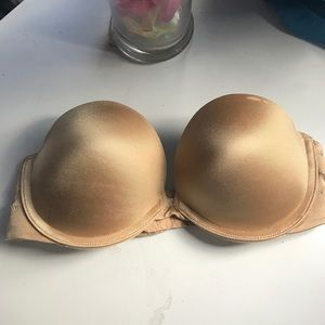 Other - Nude bra Gilligan & O'Malley deep plunged padded